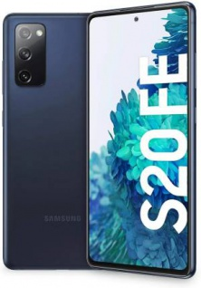 "Samsung SM-G780 Galaxy S20 FE 6+128GB 6, 5"" Cloud Navy ITA"