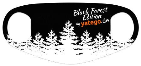 """yatego Basics Mundmaske / Gesichtsmaske """"Black Forest Edition / Tannen"""" - Farbvarianten"""