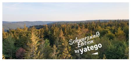 """yatego Basics Mundmaske / Gesichtsmaske """"Schwarzwald Edition"""" - Größen für Erwachsene und Kinder"""