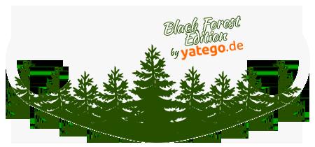 """yatego Basics Mundmaske / Gesichtsmaske """"Black Forest Edition / Tannen"""" - Farbvarianten - Vorschau 2"""