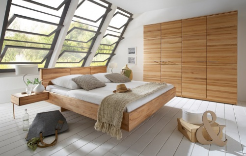 Schlafzimmer Kernbuche massiv geölt