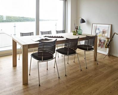 Esszimmer Naver Collection Langtisch mit 2 Klappeinlagen.