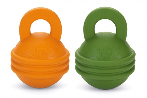 Beeztees Sumo Play Kettlebell 16 cm In div. Farben