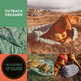 Hurtta Outback Dreamer ECO recycelt in 3 Größen