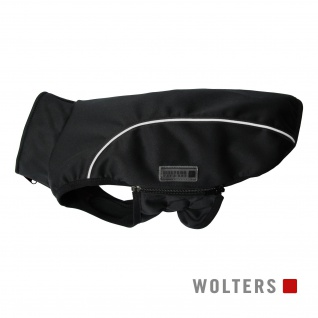 Wolters Softshell-Jacke Basic 34cm schwarz/reflektierend