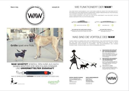 Easy Dog Walk WAW Hand Ruckdämpfer in div. Größen