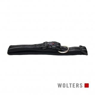 Wolters Halsband Soft & Safe reflektierend 55-60cm x 35mm schwarz/schwarz