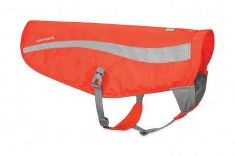 Ruffwear Track JacketTM safety jacket Blaze Orange XXS / XS