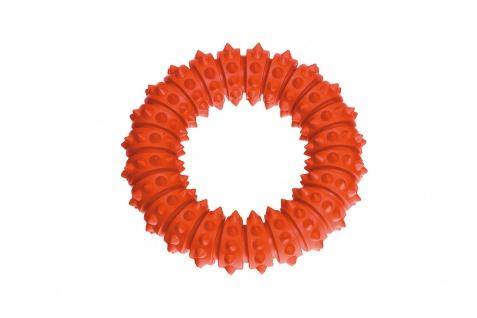 Karlie Ruffus Vollgummi Aqua Ring orange schwimmend versch. Größen