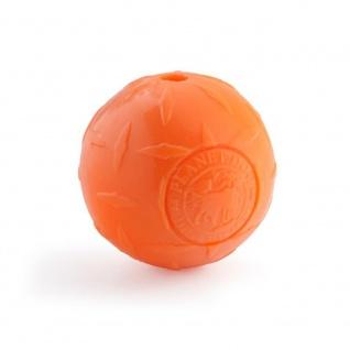 Planet Dog Orbee-Tuffl Diamond Plate Ball L orange 10cm