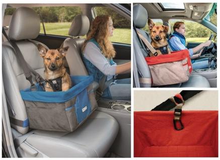 Kurgo Heather Booster Seat Autositz für Hunde in 2 Farben