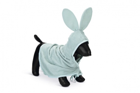 Beeztees Puppy Bade Poncho, 60x35cm Grün