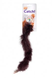 Karlie Kitty Wonderball Rasselball mit Federschwanz, 45 cm