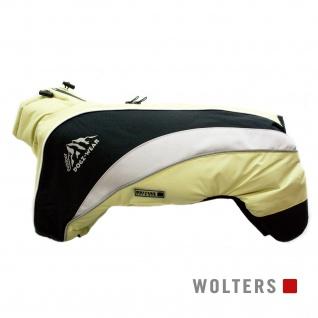 Wolters Skianzug Dogz Wear mit wasserdichtem RV 60cm lime/schwarz