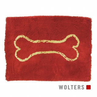 Wolters Dirty Dog Doormat Large 90 x 66cm rot