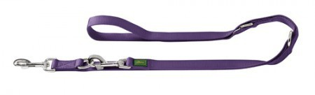 Hunter Verst. Führleine 10/200 Nylon violett