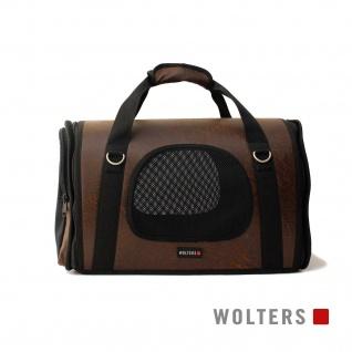 Wolters Transporttasche Senator Gr.M 40 x 22 x 27cm antik-braun