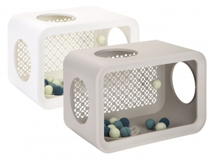 Beeztees Cat CubePlay In 2 Farben 49x29x32, 6cm
