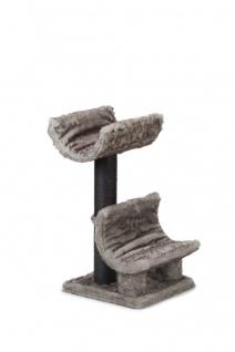 Beeztees Kratzbaum Pinoc, Grau 50x50x80cm