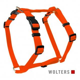 Wolters Geschirr Basic Gr.XL 75-100cm orange