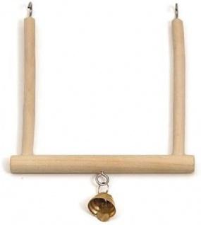 Karlie Vogel Trapezschaukel B 12, 5 x H 13, 5 cm mit Glocke