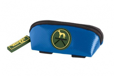 Hunter Kotbeutelspender Detroit blau, mit Schlüsselring
