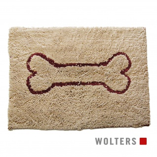 Wolters Dirty Dog Doormat Large 90 x 66cm sand