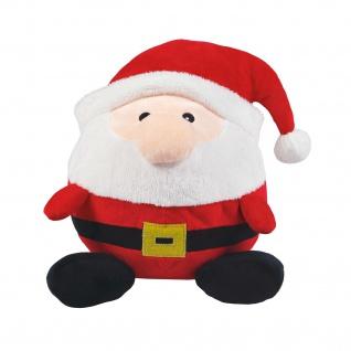 Wolters Plüschball Weihnachtsmann versch. Größen