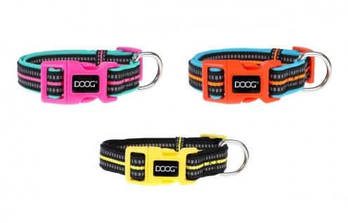 Doog Neon Halsband in div. Größen und Farben