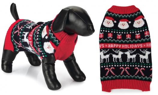 Beeztees Weihnachtspullover Happy Xmas versch. Größen