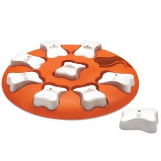Nina Ottosson Dog Smart - Kunststoff - Level 1 orange ø 28 cm