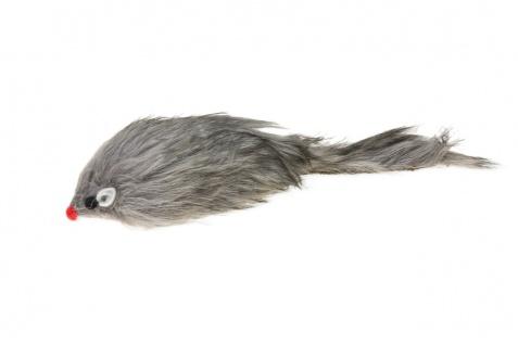 Karlie Katzenspielzeug Plüschmaus 12 cm