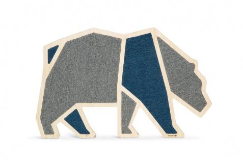 Beeztees Kratzbrett Wood Blue Bea, 84x54x1, 8cm