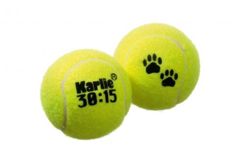 Karlie Tennisball 30:15 - 1 oder 2 Stück Tennisbälle