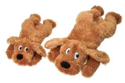 Karlie Plüschspielzeug Hund Stups mit Squeaker versch. Größen