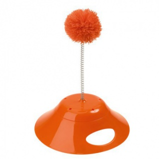 Hunter Katzenspielzeug Play & Bowl orange