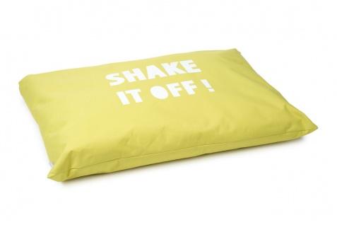 Beeztees Hundekissen Shake It Gelb 100x70cm, Nylon