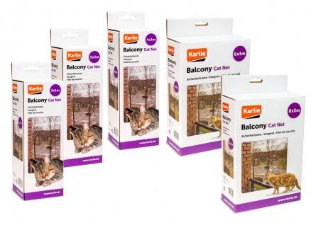 Karlie Katzenschutznetz Transparent versch. Größen