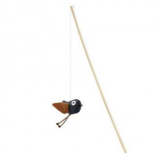 Hunter Katzenspielzeug Elroy Katzenangel Vogel