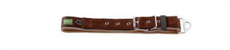 Hunter Halsband Neopren Special 66-80 cm , 32 mm Nylon braun/Neopren caramel