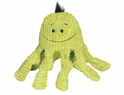 HuggleHounds Octo-Knottie, citron groß 34 x 28 x 13