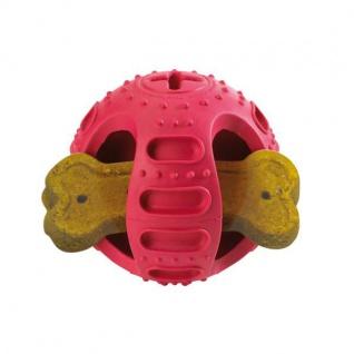 Hunter Hundespielzeug Stuff'n Bounce, M 11, 5 cm Vollgummi rot