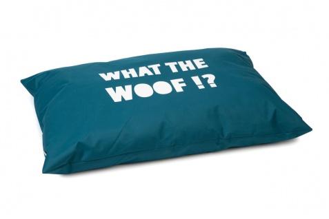 Beeztees Hundekissen What The Woof Grün 100x70cm, Nylon