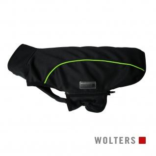 Wolters Softshell-Jacke Basic 75cm schwarz/limone