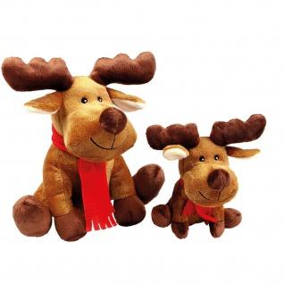 Wolters Plüschelch Rudolph versch. Größen