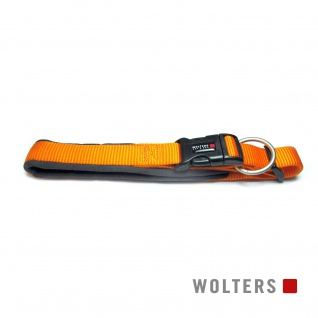 Wolters Halsband Professional Comfort 55-60cm x 35mm mango/schiefer