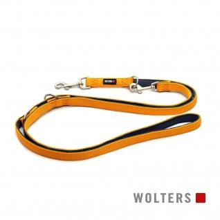 Wolters Führleine Professional Comfort Gr.L 200cm x 20mm mango/schiefer