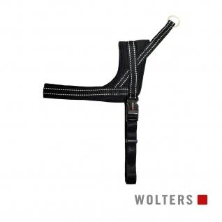 Wolters Geschirr Soft & Safe reflektierend Gr.0 35-45cm schwarz/schwarz