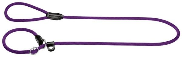 Hunter Retriever-Leine Freestyle 10/120 mit Stoppring, Tau violett