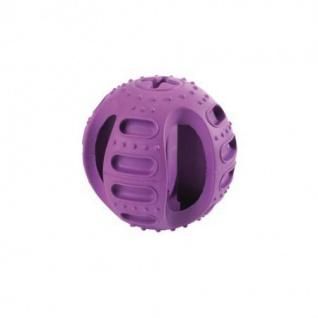 Hunter Hundespielzeug Stuff'n Bounce, 11, 5 cm Vollgummi lila